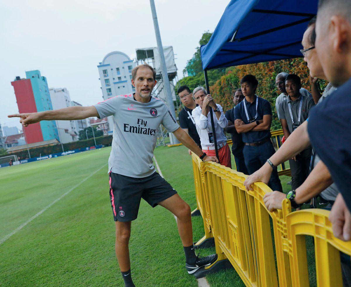 Tuchel: Creo que Cavani se va a quedar en el PSG. Foto: @PSG_inside