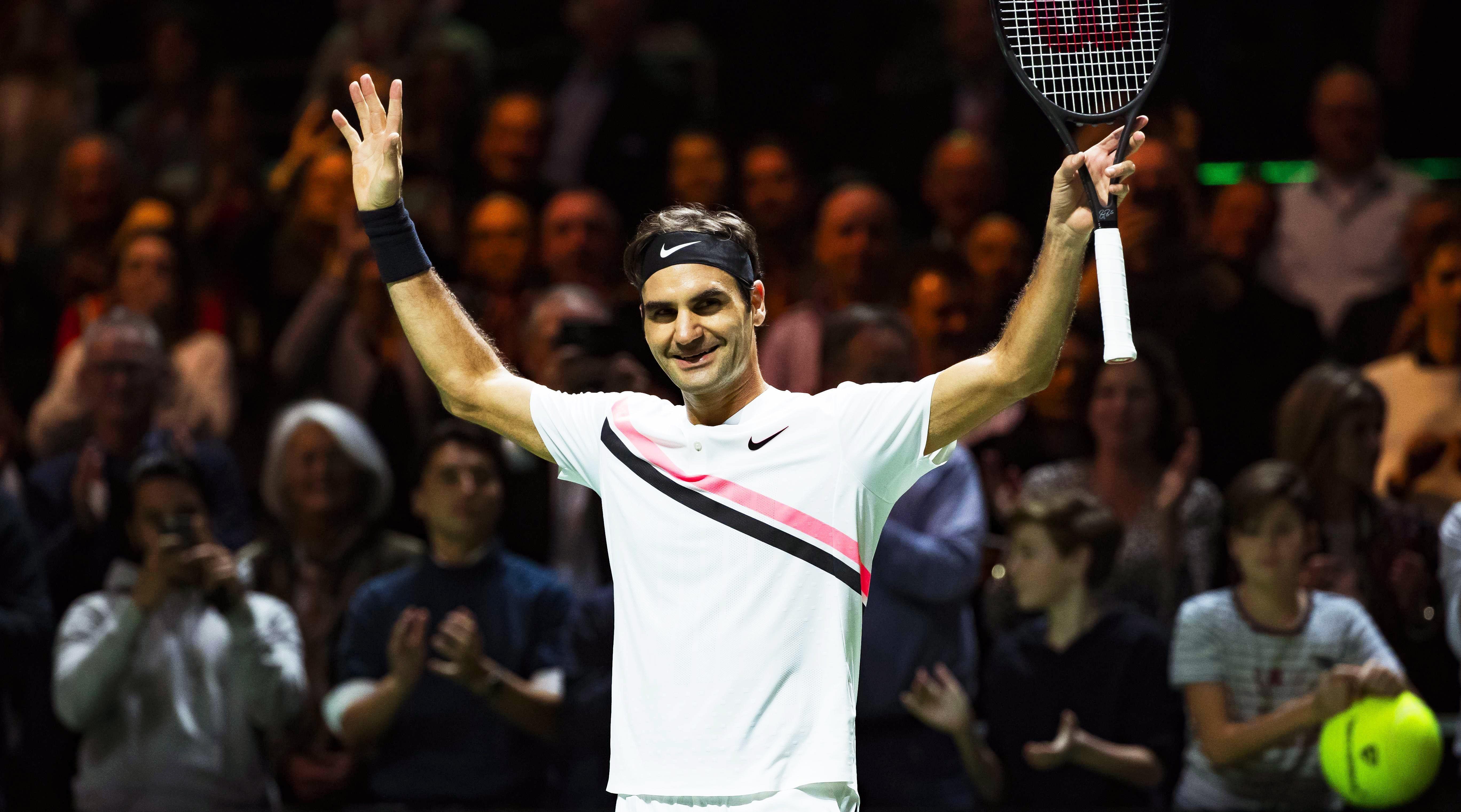 Federer avanzó a la final. Foto: EFE