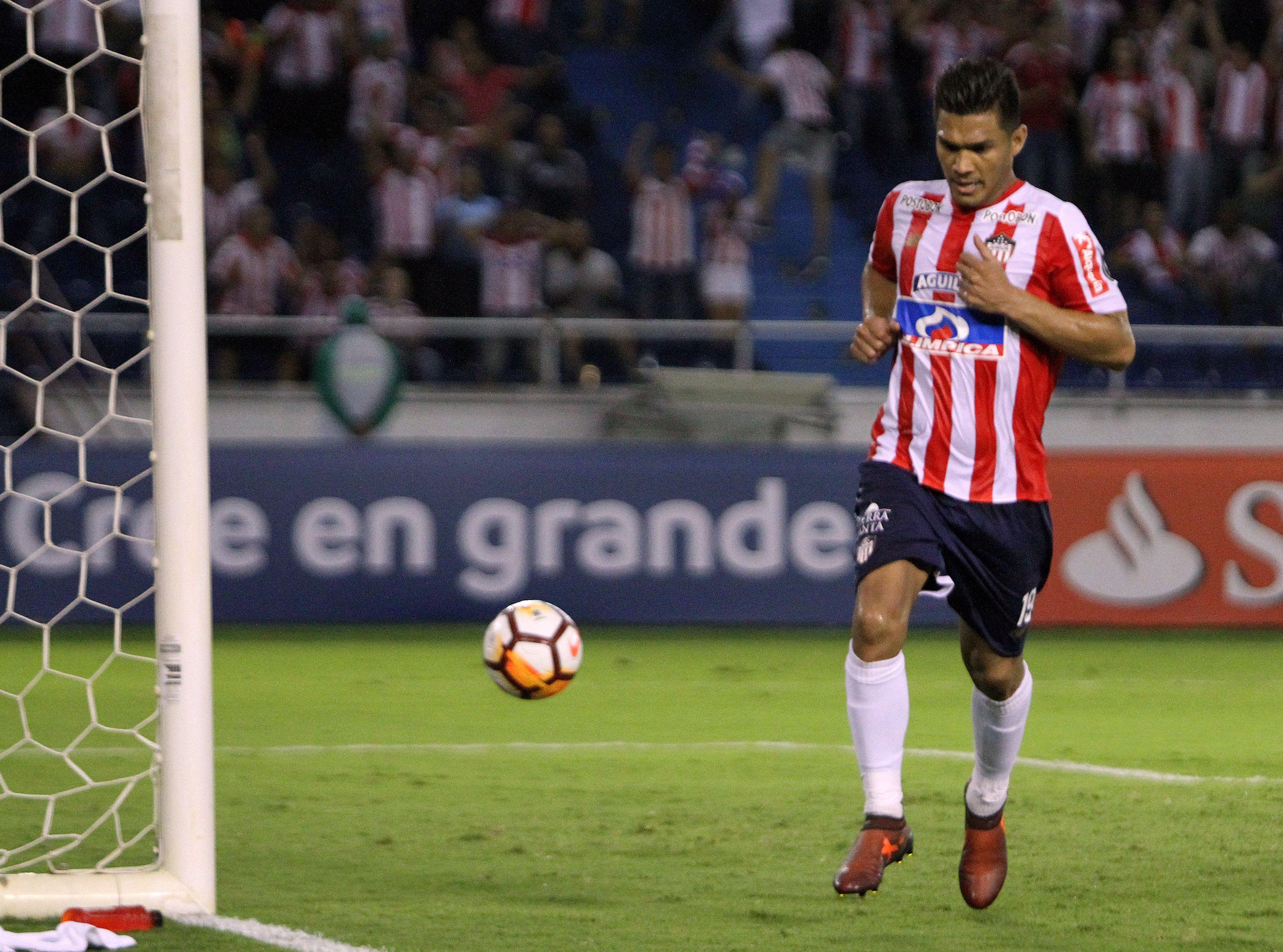 Teo Gutiérrez será de la partida ante Guaraní. Foto: EFE