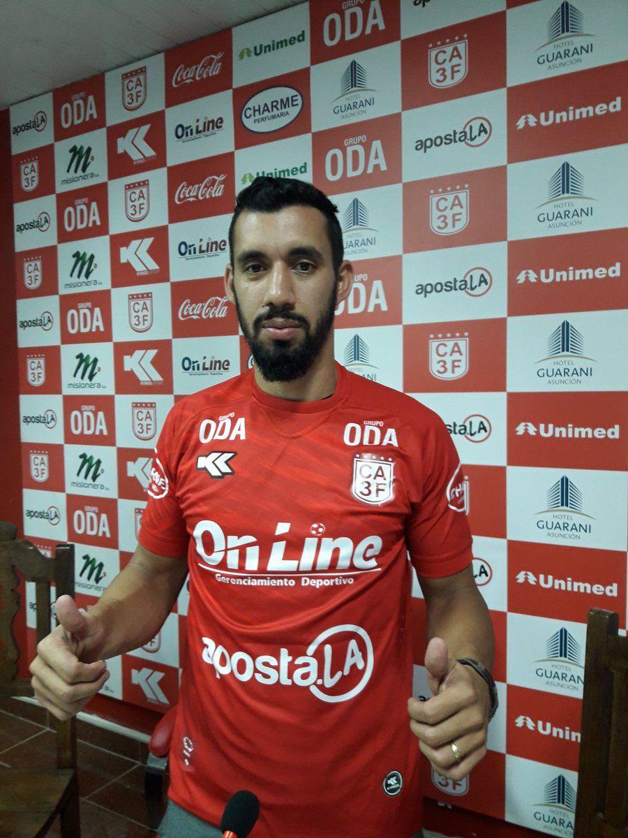 Eduardo Ledesma jugará el Torneo Apertura en el 3 de febrero. Foto:@CA3F