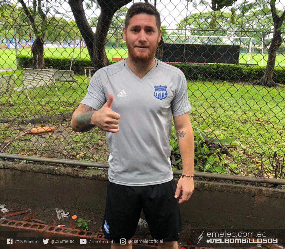 Silva ya entrenó en Emelec.