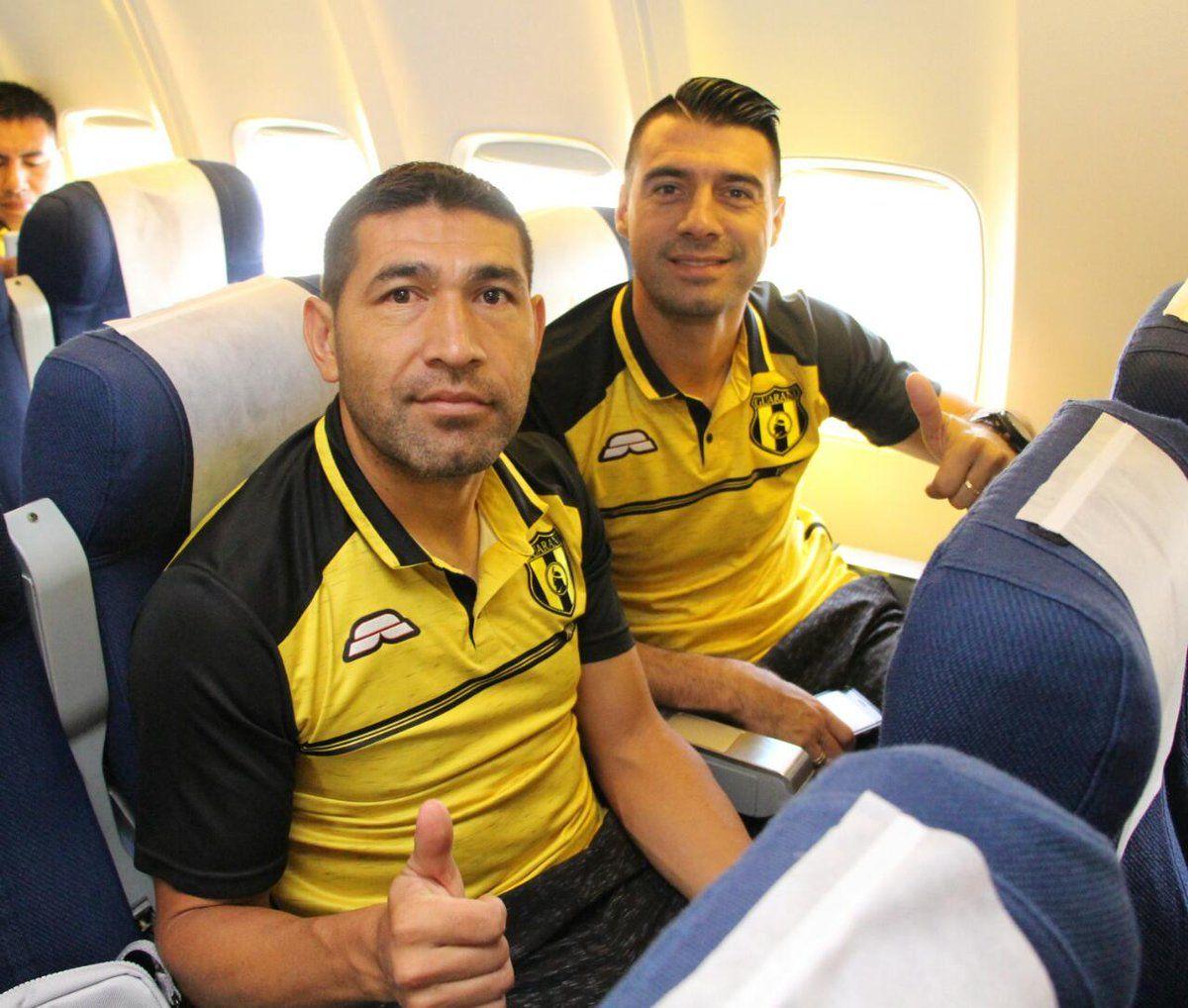 Luis Cabral y Julio Cáceres