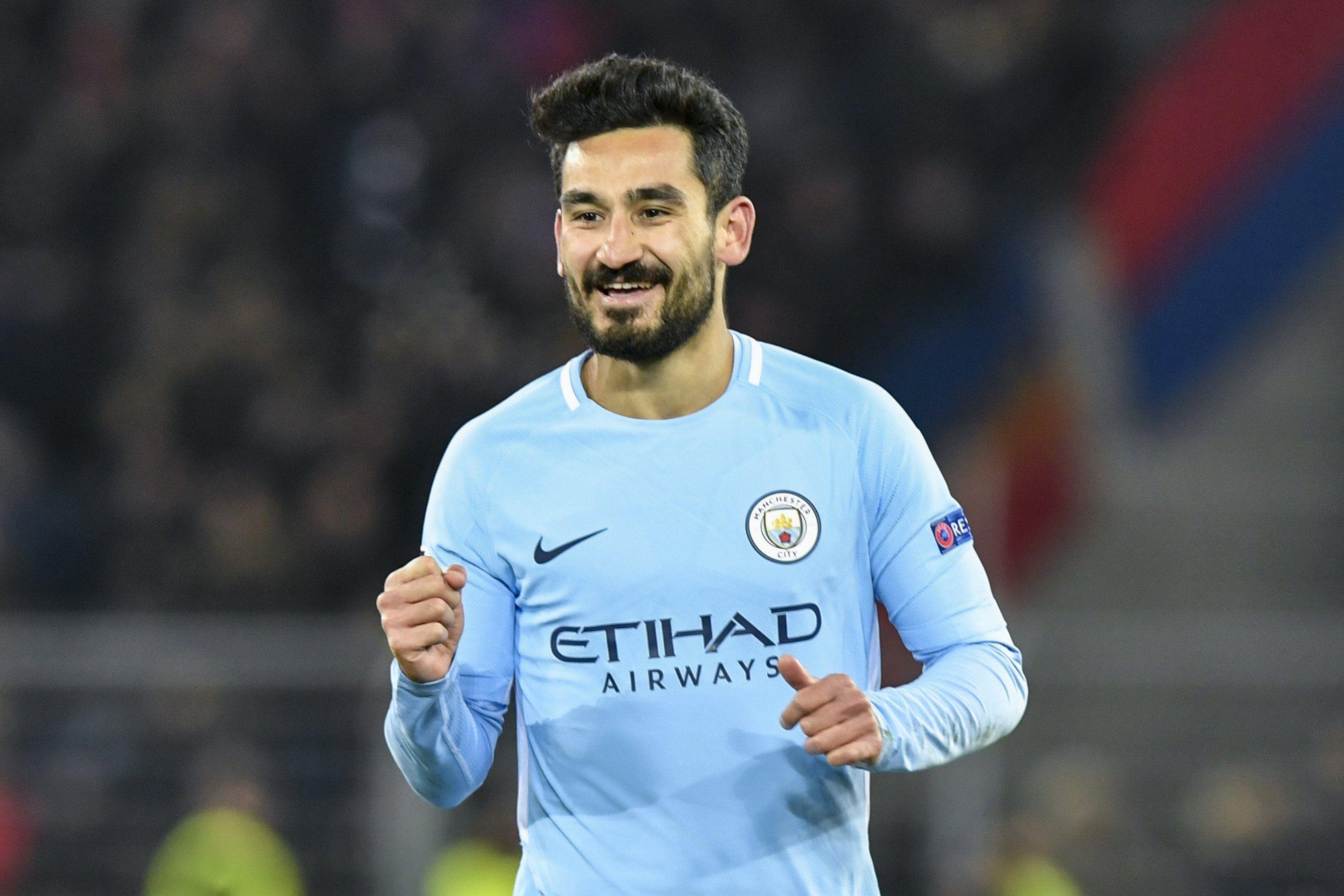 Gündogan convirtió dos goles en la victoria del Manchester City. Foto: EFE