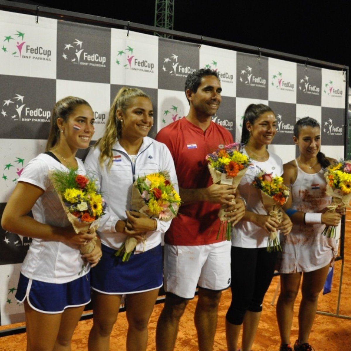 Las chicas medirán a España en abril. Foto: APT