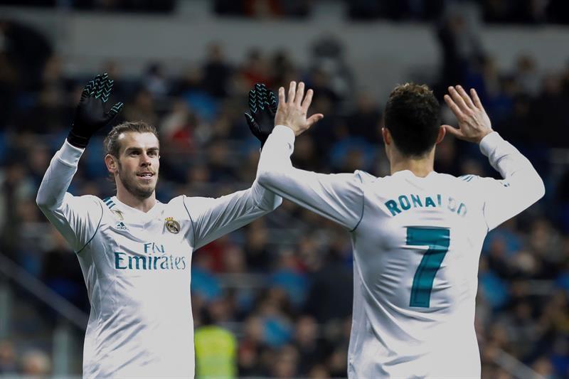 El Real Madrid toma impulso antes de su gran cita. Foto: EFE