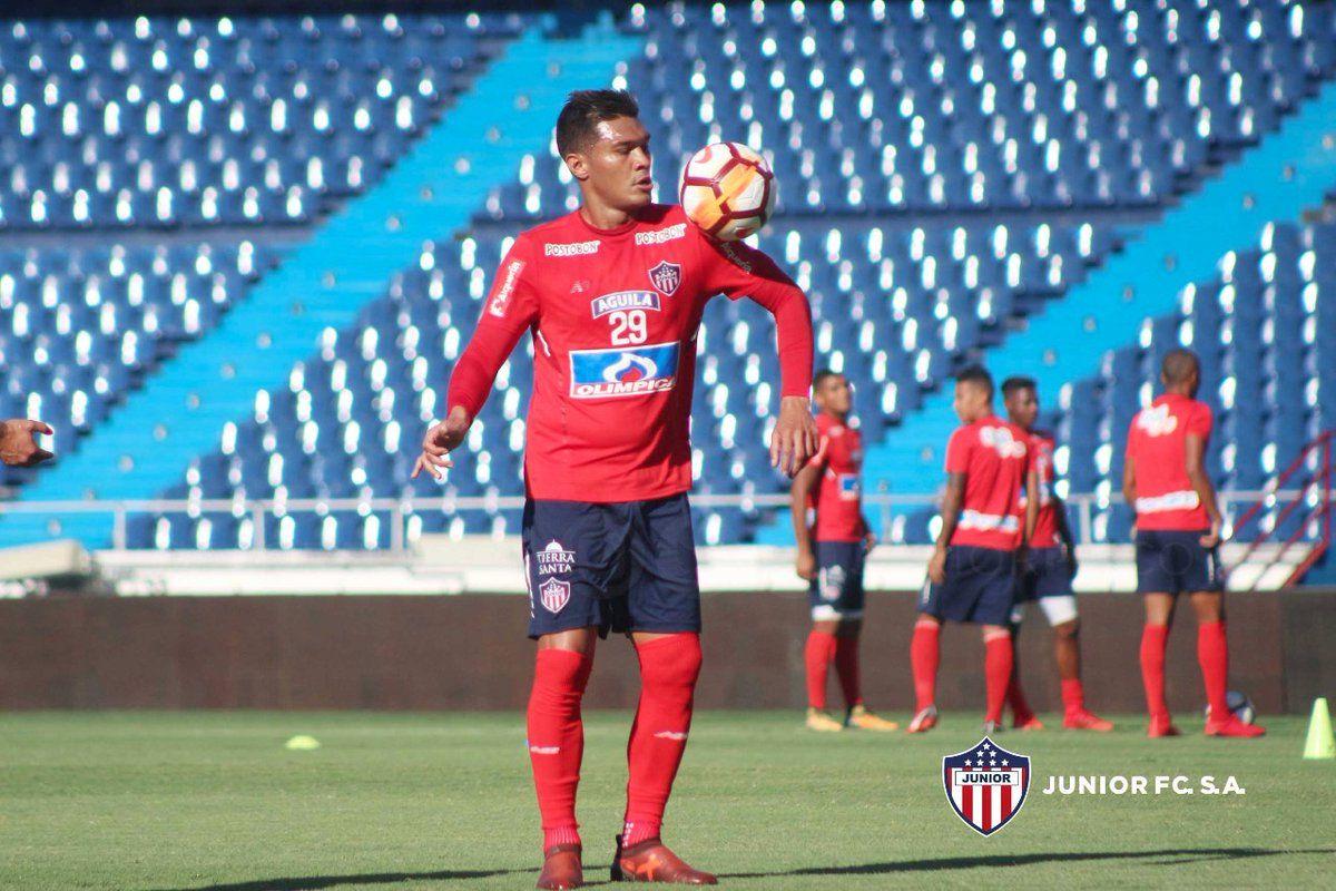 Teo Gutiérrez es duda en Junior. Foto: Gentileza Club Junior