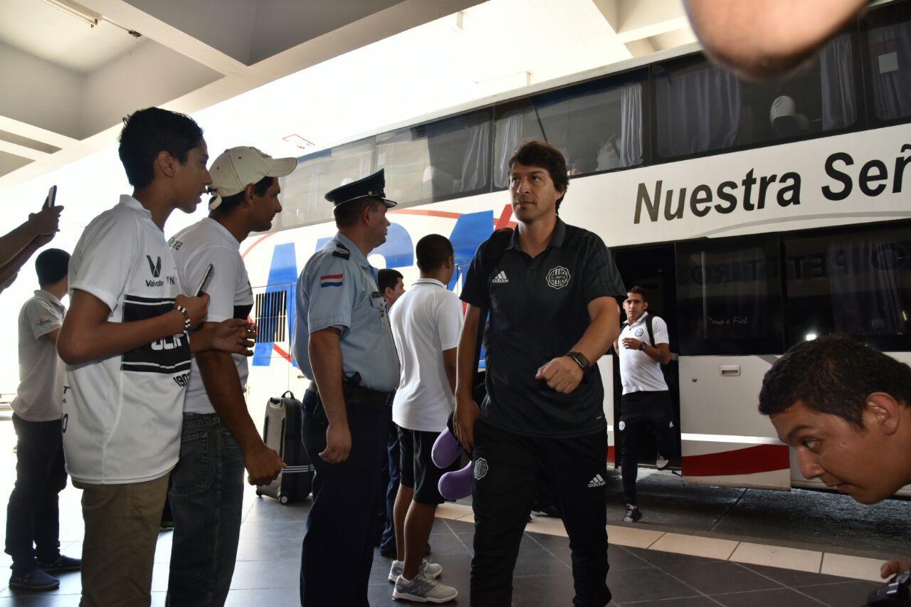 Garnero quiere un equipo agresivo y protagonista en Barranquilla. Foto: Daniel Riveros-Última Hora