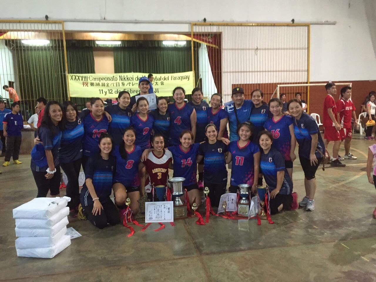 Preparado. Este sábado se realiza la 39 edición del torneo de Vóley Nikkei del Paraguay. Foto: Gentileza