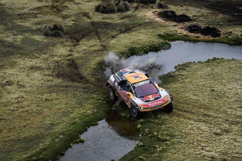 El clima juega en contra del Dakar por tercer año consecutivo. Foto: Gentileza