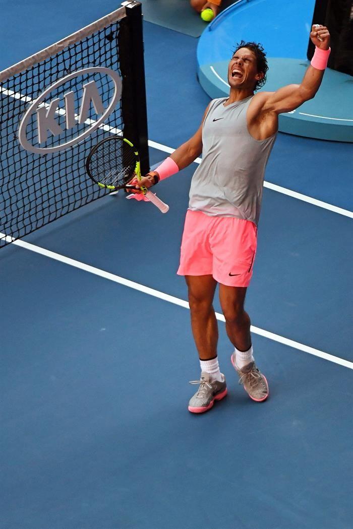 Del Potro: Rafa Nadal es un jugador que está por encima del resto. Foto: EFE