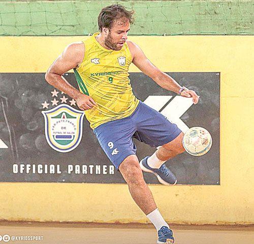 Apuesta fuerte. Darío Herrera jugará en Presidente Franco.