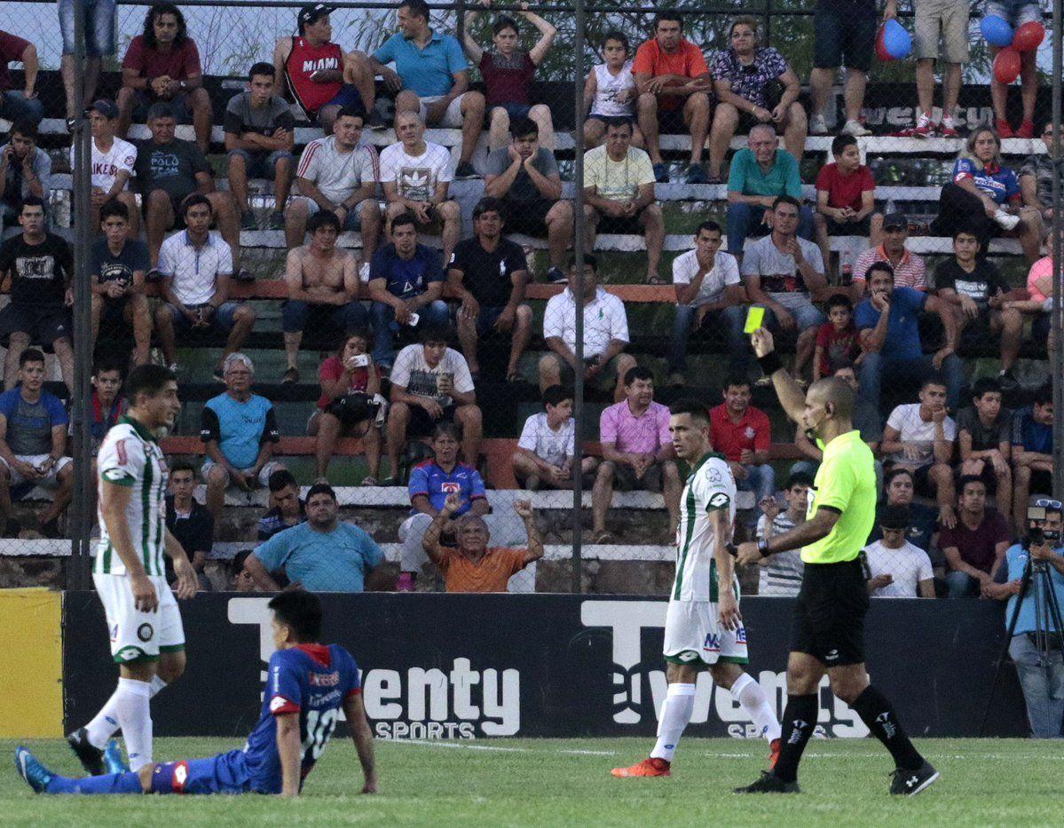 Rubio Ñu perdió la categoría en un partido extra con Independiente. Foto: Prensa APF