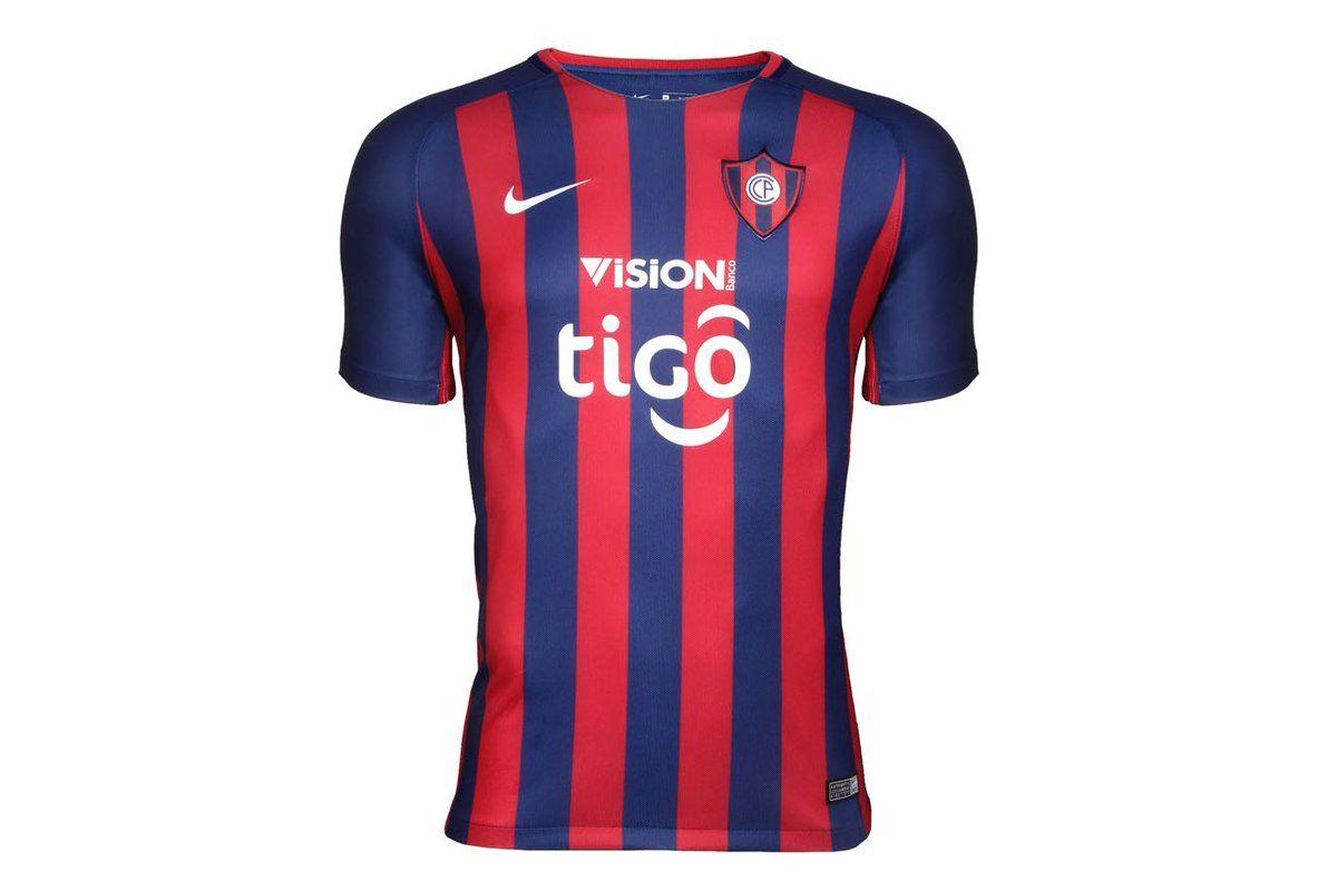 La nueva camiseta de Cerro Porteño para el 2018 51ecb58a25bf7
