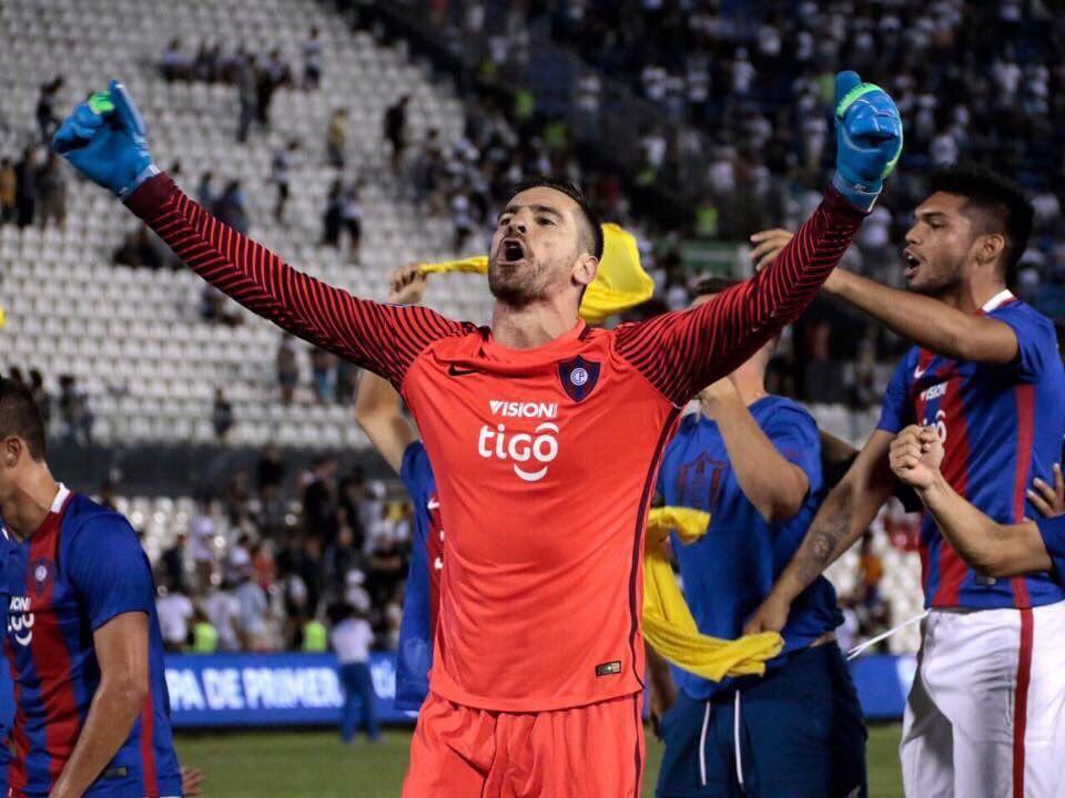 El portero de Cerro confía en un buen resultado el domingo.