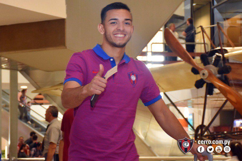 Alfio Oviedo será titular el miércoles. Foto: Prensa Club Cerro Porteño.