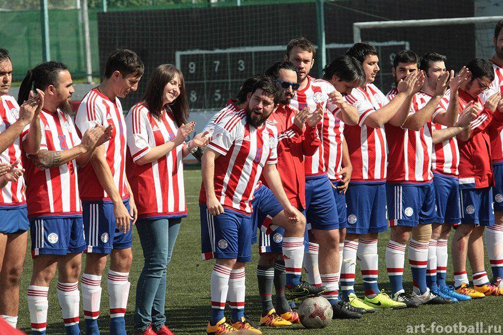 DLKBEZA FC vibró en Rusia. Foto: Gentileza