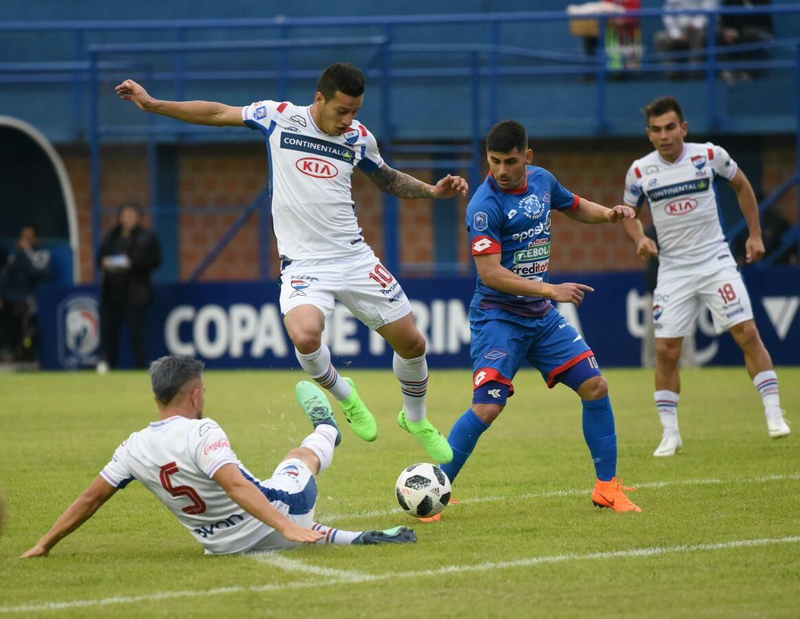 Independiente y Nacional igualaron 2-2. Foto: Andrés Catalán - UH