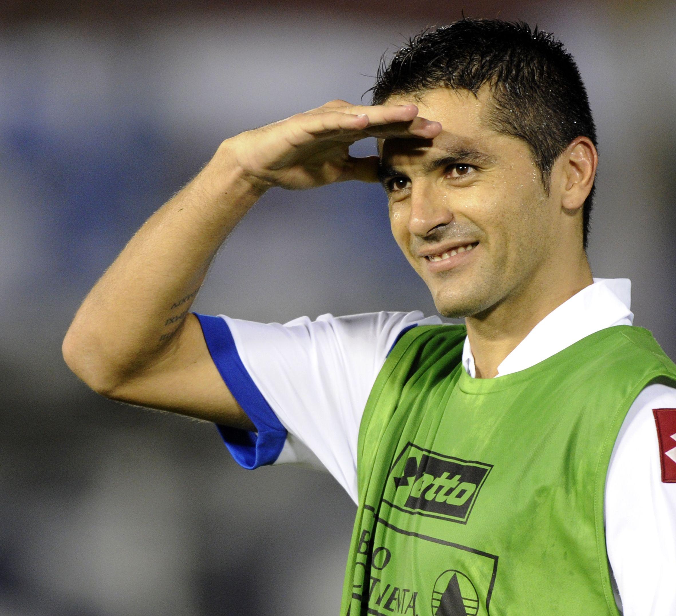 Santiago Salcedo es el goleador mayor goleador activo del fútbol paraguayo.