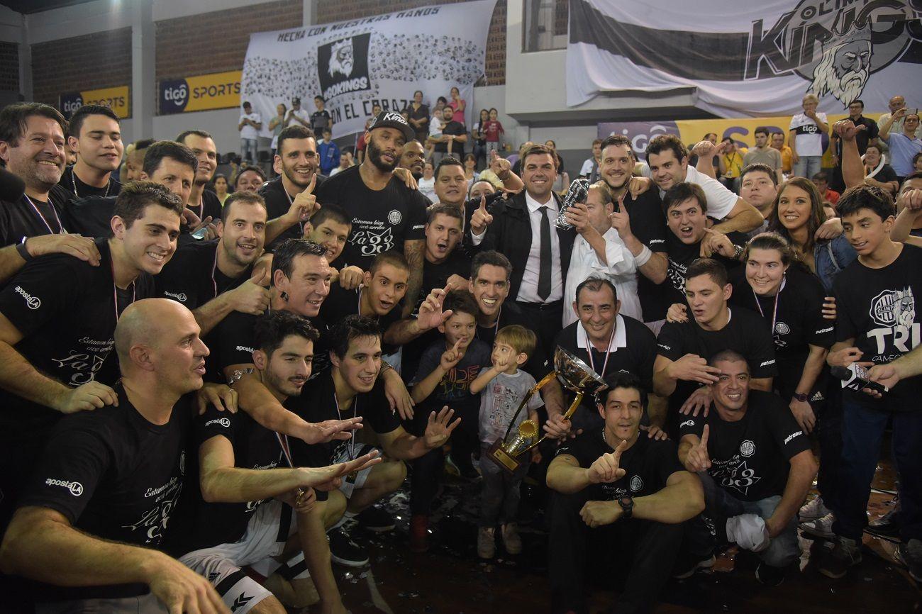 Olimpia gritó campeón una vez más. Foto: Walter Franco/Última Hora