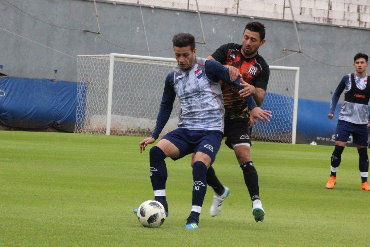 Nacional y Santaní igualaron en amistoso. Foto: Prensa Club Nacional