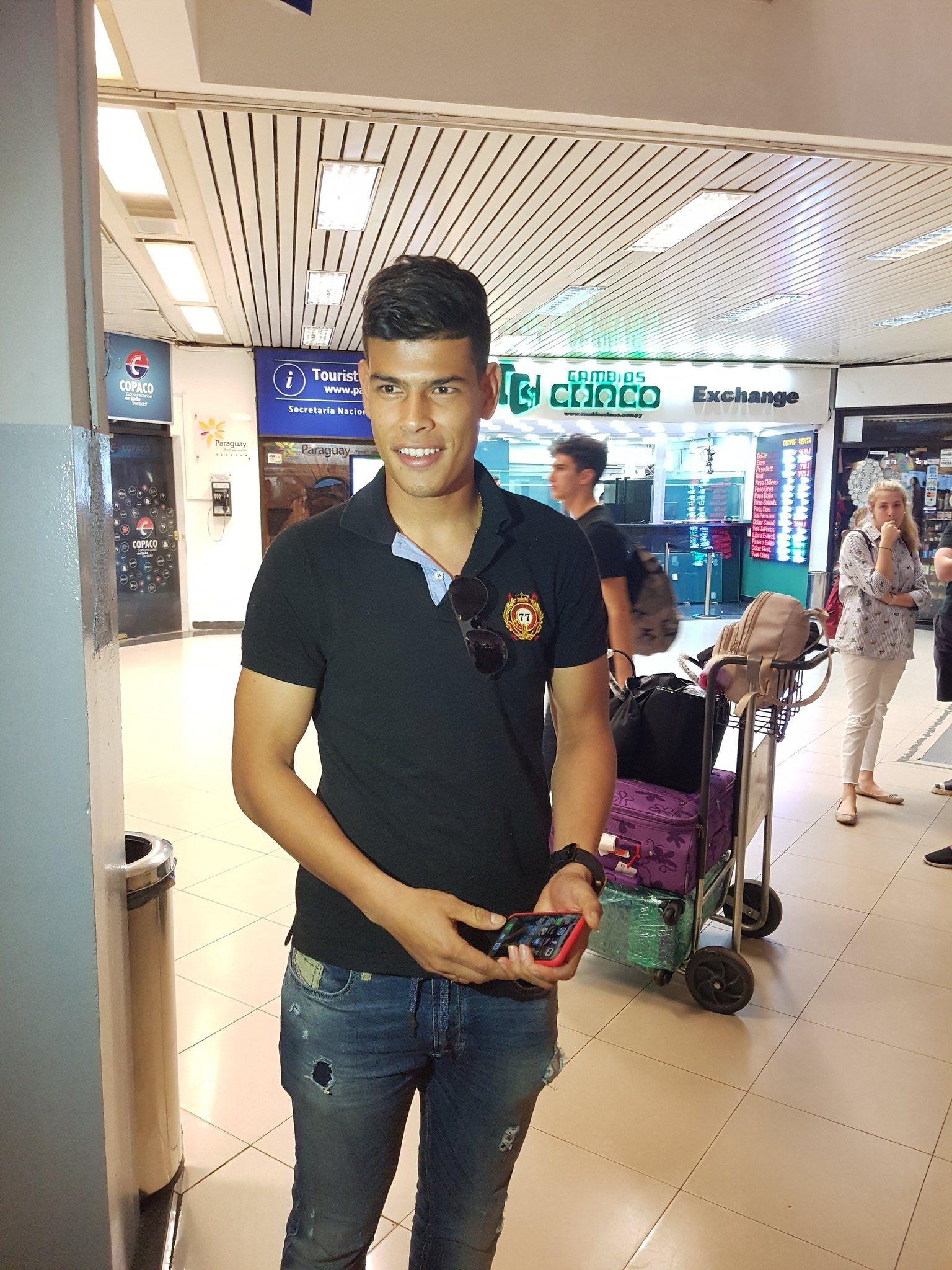 Jorge Arias ya se encuentra en Paraguay.