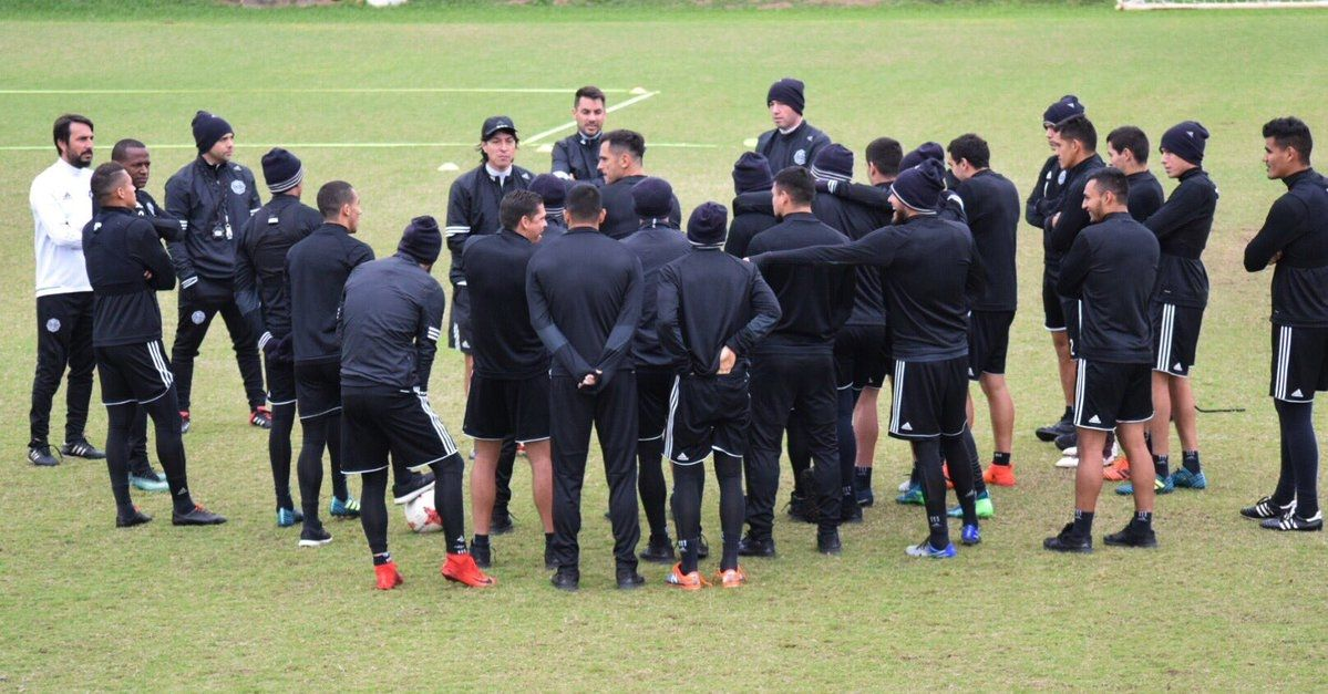 El Decano se prepara para el Clausura. Foto: Prensa Club Olimpia