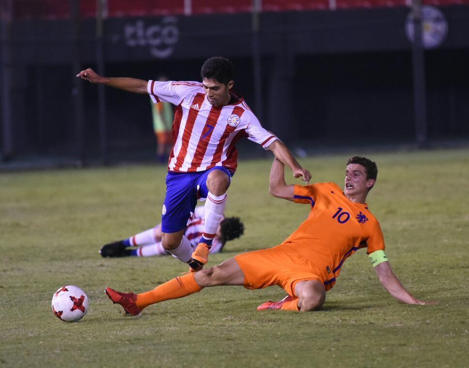 Paraguay cayó ante Holanda en Sub 21. Foto: Andres Catalán/Última Hora