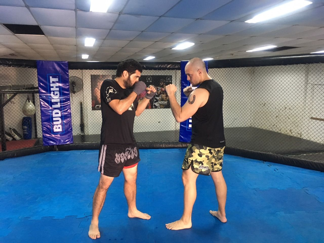 Muay Thai y Brazilian Jiu Jitsu este sábado en el Rowing Club. Foto: Gentileza