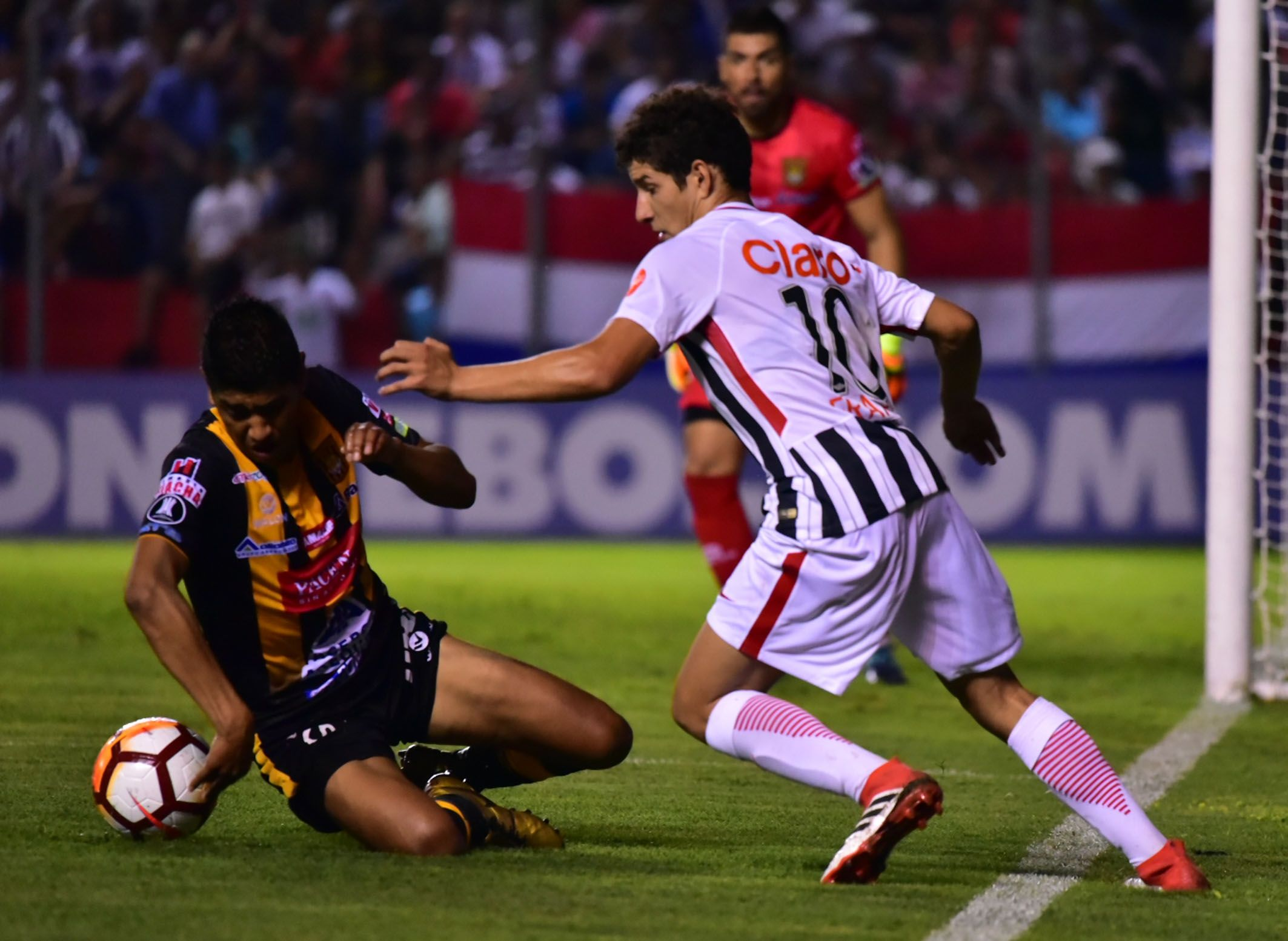 Iván Francotiene contrato con Libertad por 4 años. Foto: Fernando Calistro