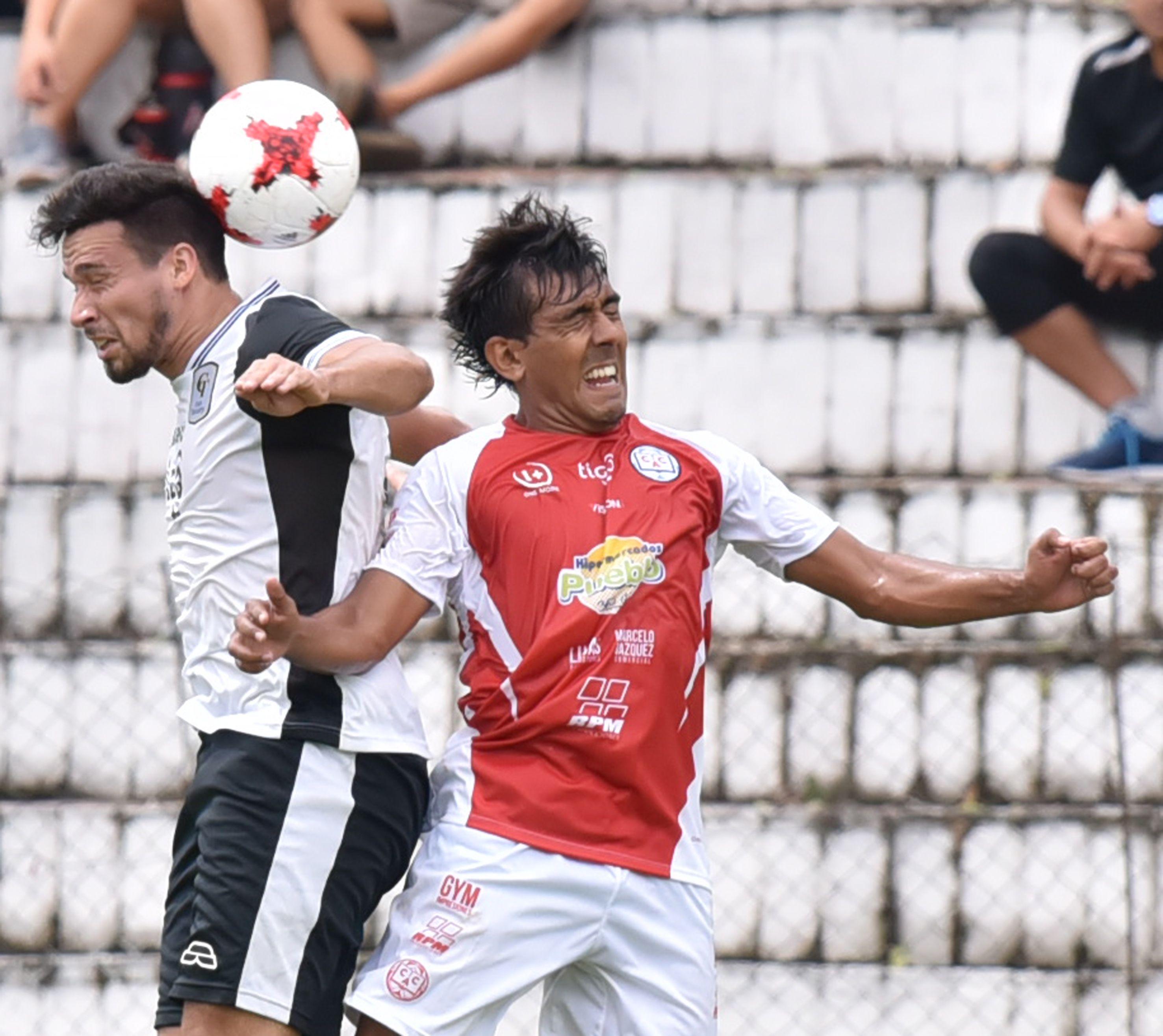 Colegiales salta a escena en la Copa Paraguay. Foto: Última Hora.