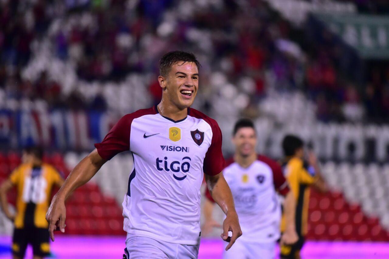 Cerro Porteño goleó a Guaraní en el Defensores. Foto: Fernando Calistro – Última Hora.