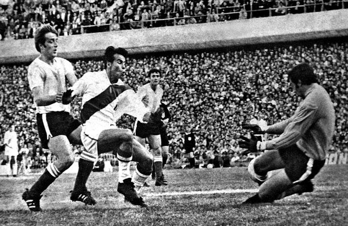 El partido entre Argentina y Perú durante el Mundial 1978