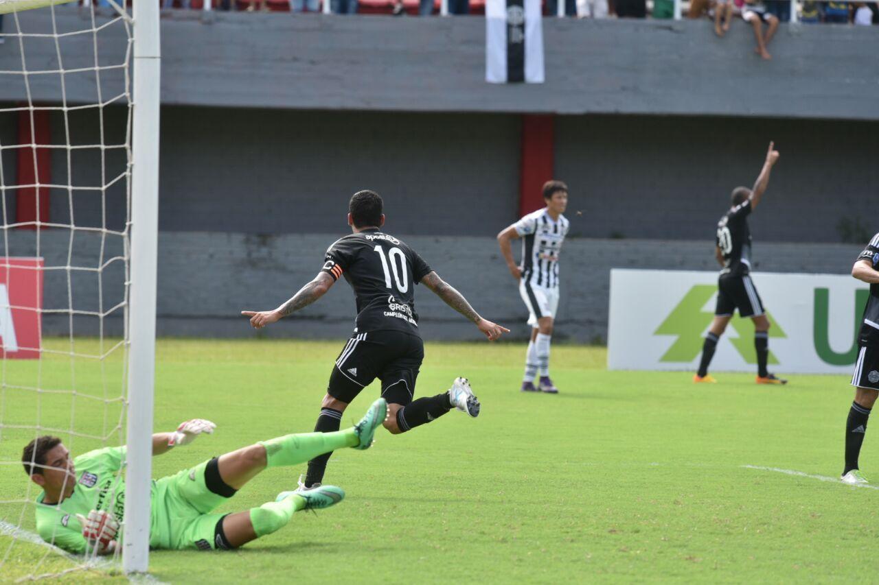 Olimpia brilló en el segundo tiempo y goleó. Foto: Daniel Riveros - Última Hora.