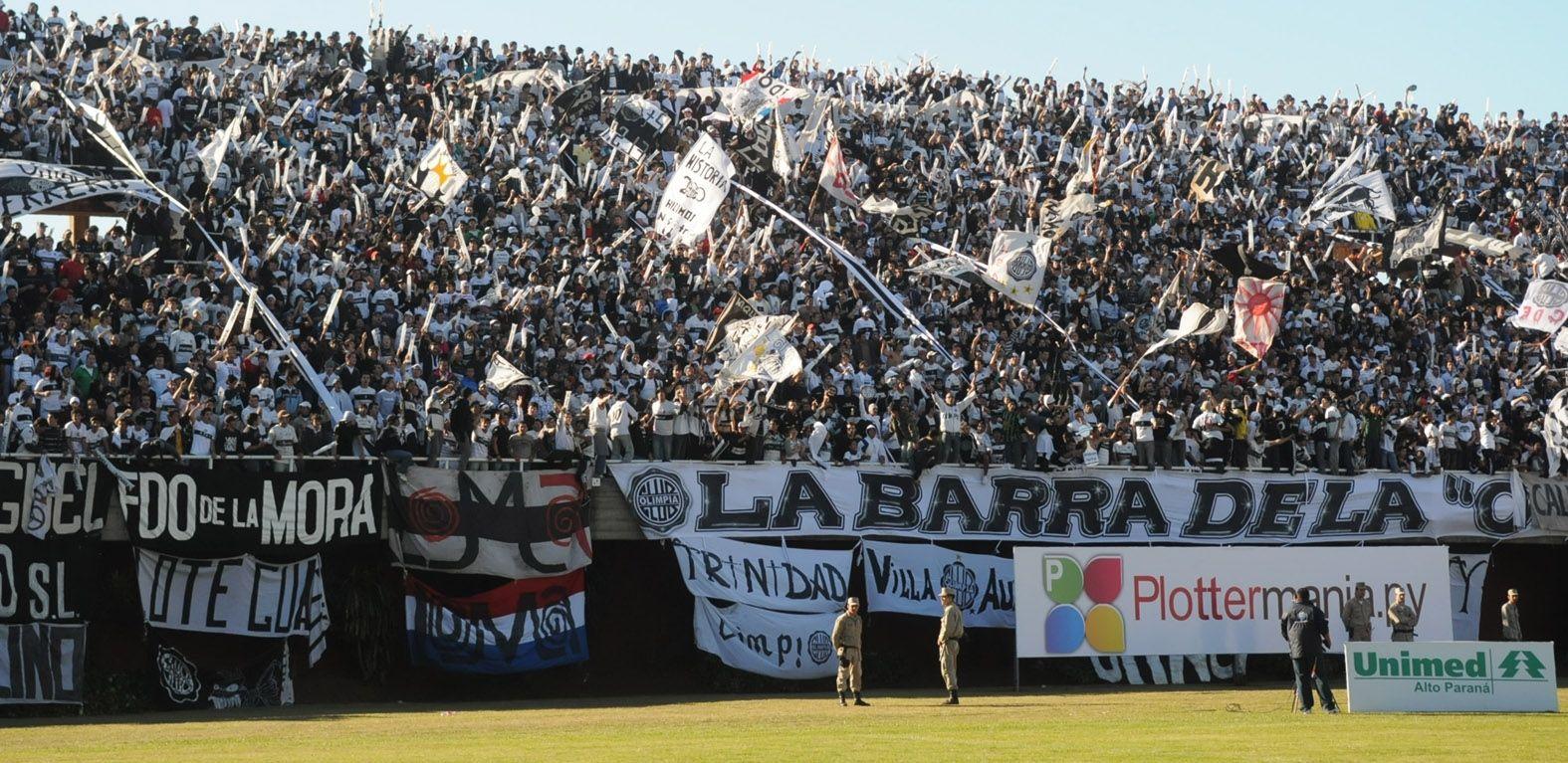 Los hinchas de Olimpia coparán el Antonio Aranda. Foto: Archivo