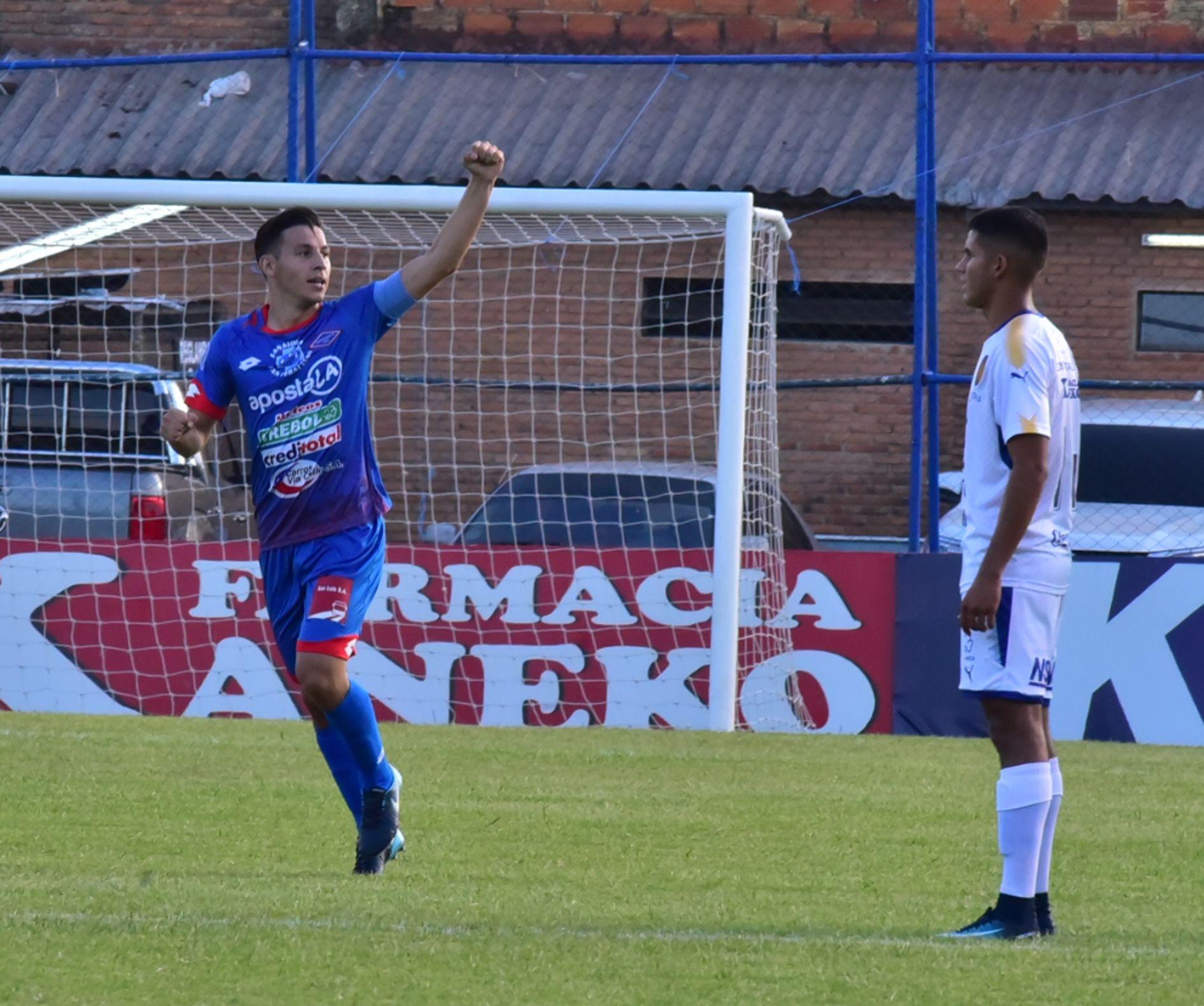 Sebastián Ferreira asume que vive su mejor momento en Primera División. Foto: Última Hora