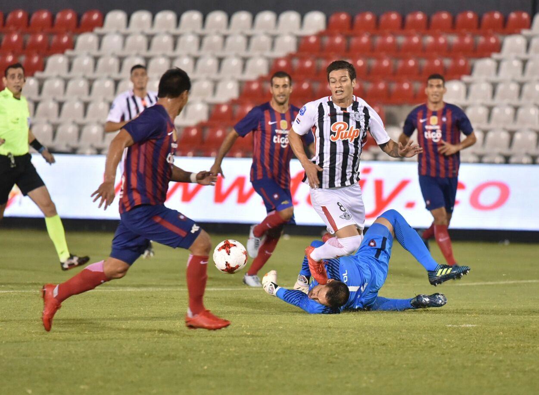 Cerro Porteño y Libertad se repartieron los puntos. Foto: Dardo Ramírez - Última Hora.