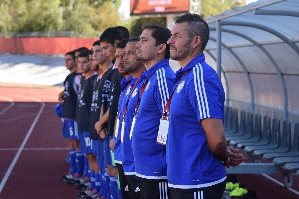 Morínigo dice que Paraguay es el menos favorito en el Hexagonal Final. Foto: Prensa Albirroja.