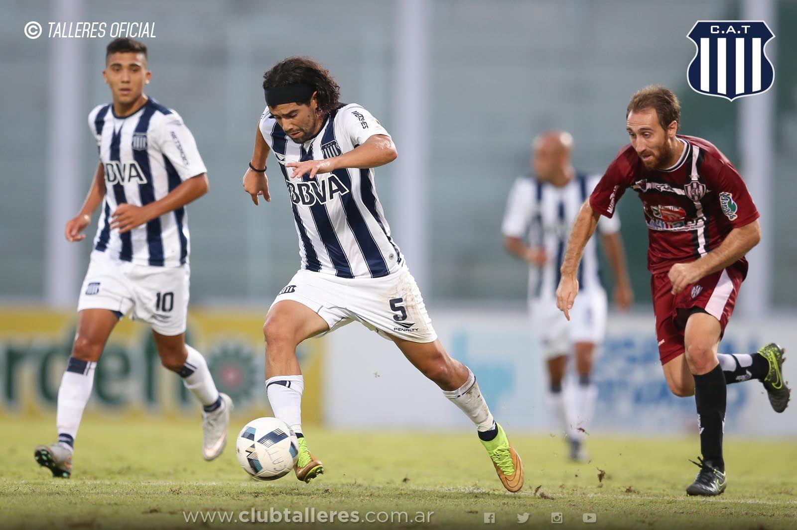 Burgos deja Talleres para jugar en Olimpia. Foto: Prensa Talleres.
