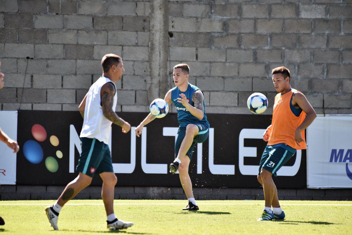 Piris se mueve en la Ciudad Deportiva. Foto: @SanLorenzo