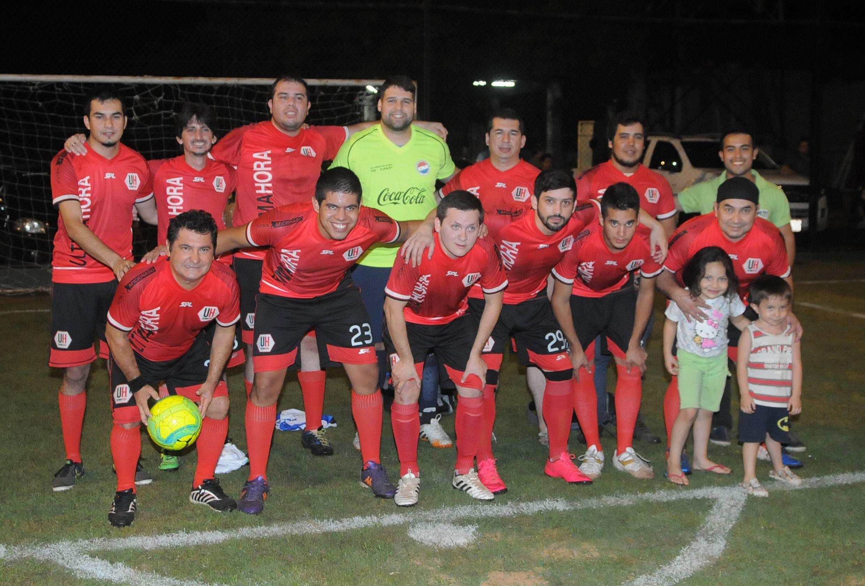 Equipo de Última Hora se coronó campeón en el CPDP. Foto: Miguel Houdin