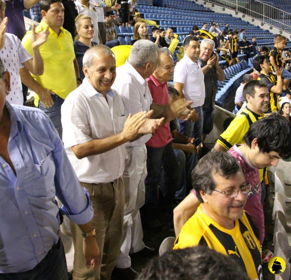 El equipo aurinegro espera por el respaldo. Foto: Gentileza