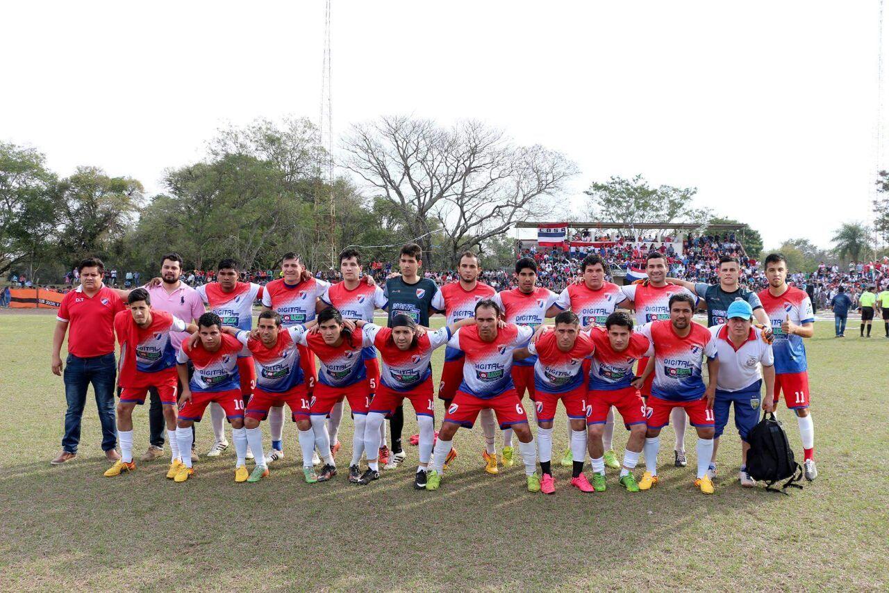 San Antonio consigue su noveno título y es el monarca de Ayolas. Foto: Gentileza