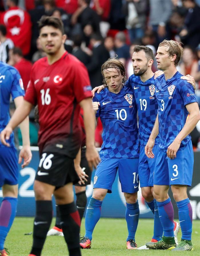 Modric lidera la lista de Croacia. Foto: EFE