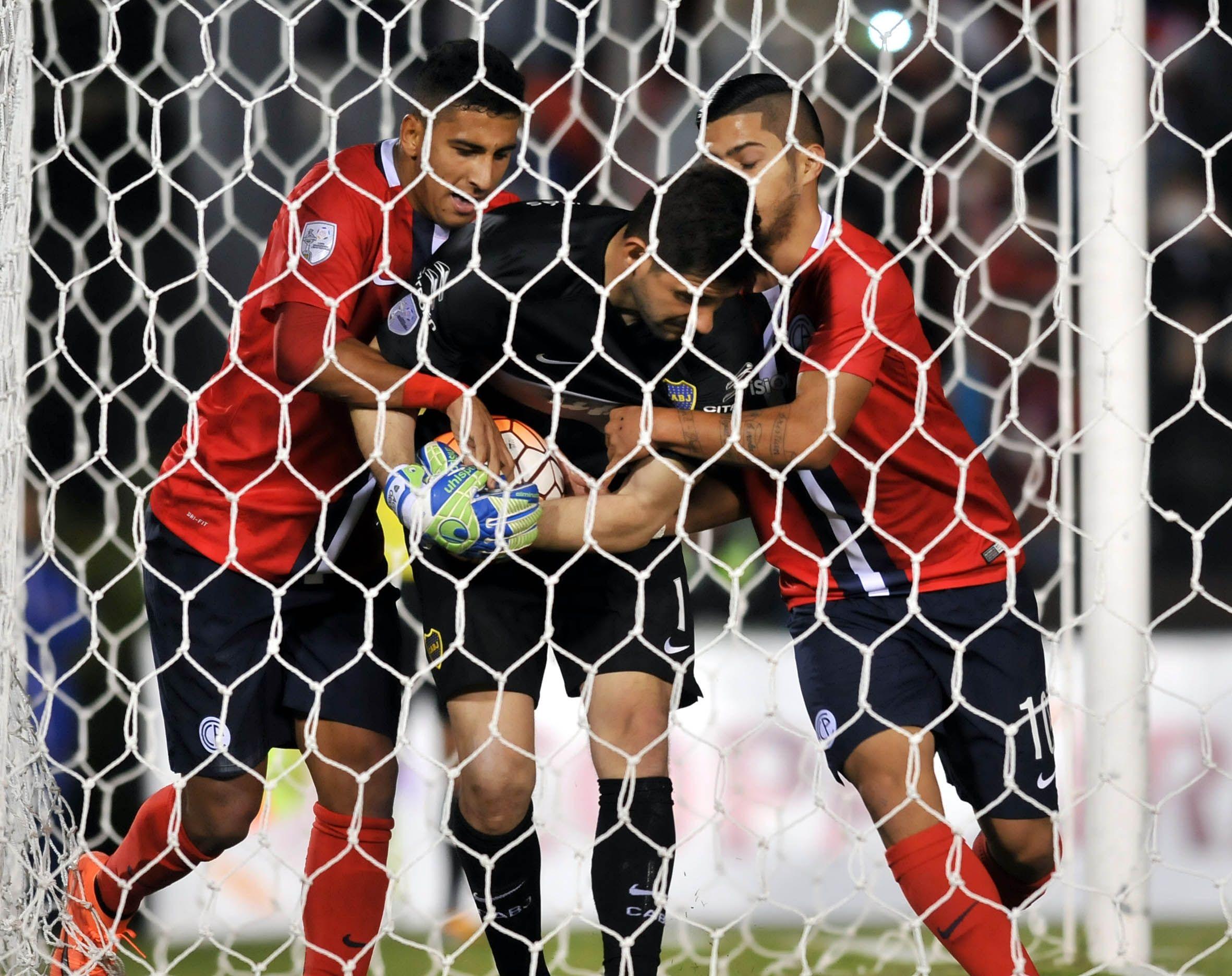 Domínguez marcó el gol de Cerro. Foto: Fernando Calistro - Última Hora.