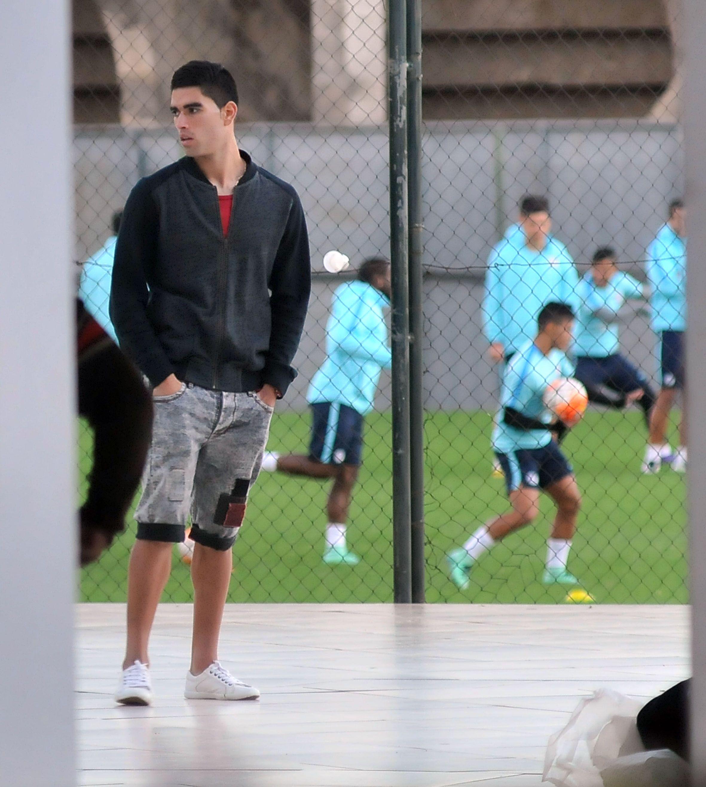Brian Montenegro no quiere jugar en Cerro Porteño. Foto: Última Hora