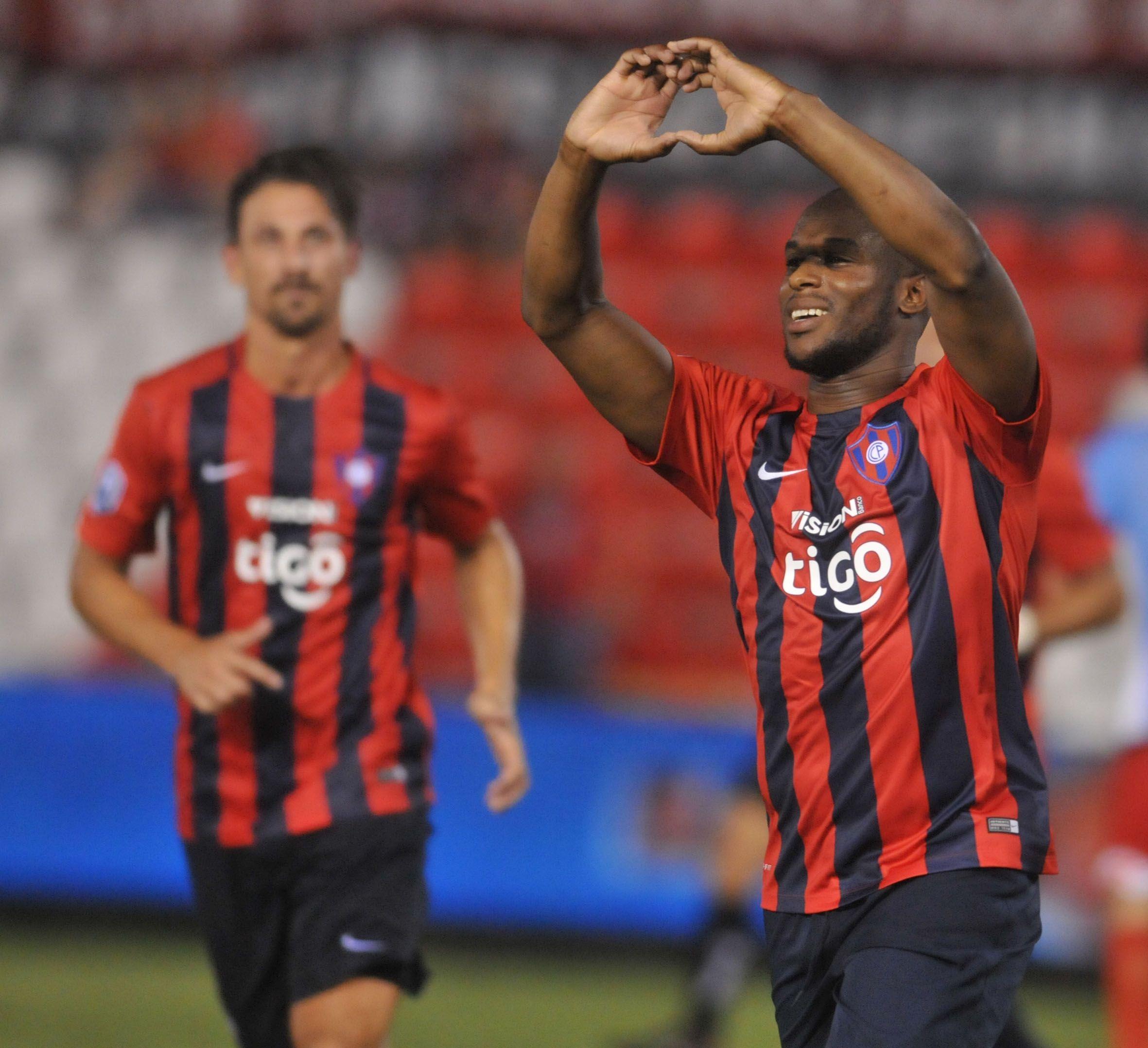 Cerro Porteño debuta en la Copa. Foto: José Molinas-Última Hora