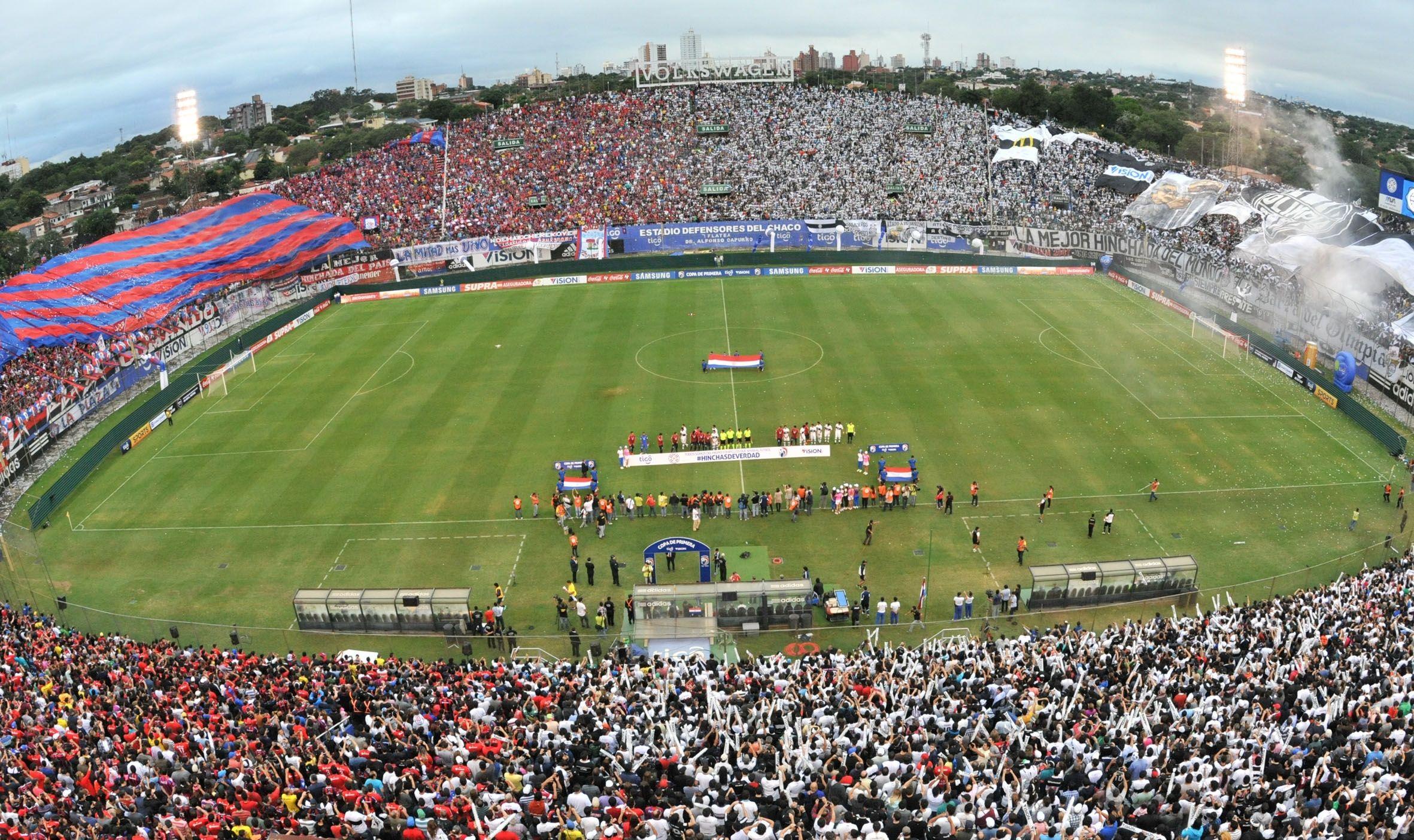 El Defensores estará repleto este domingo. Foto: Última Hora.