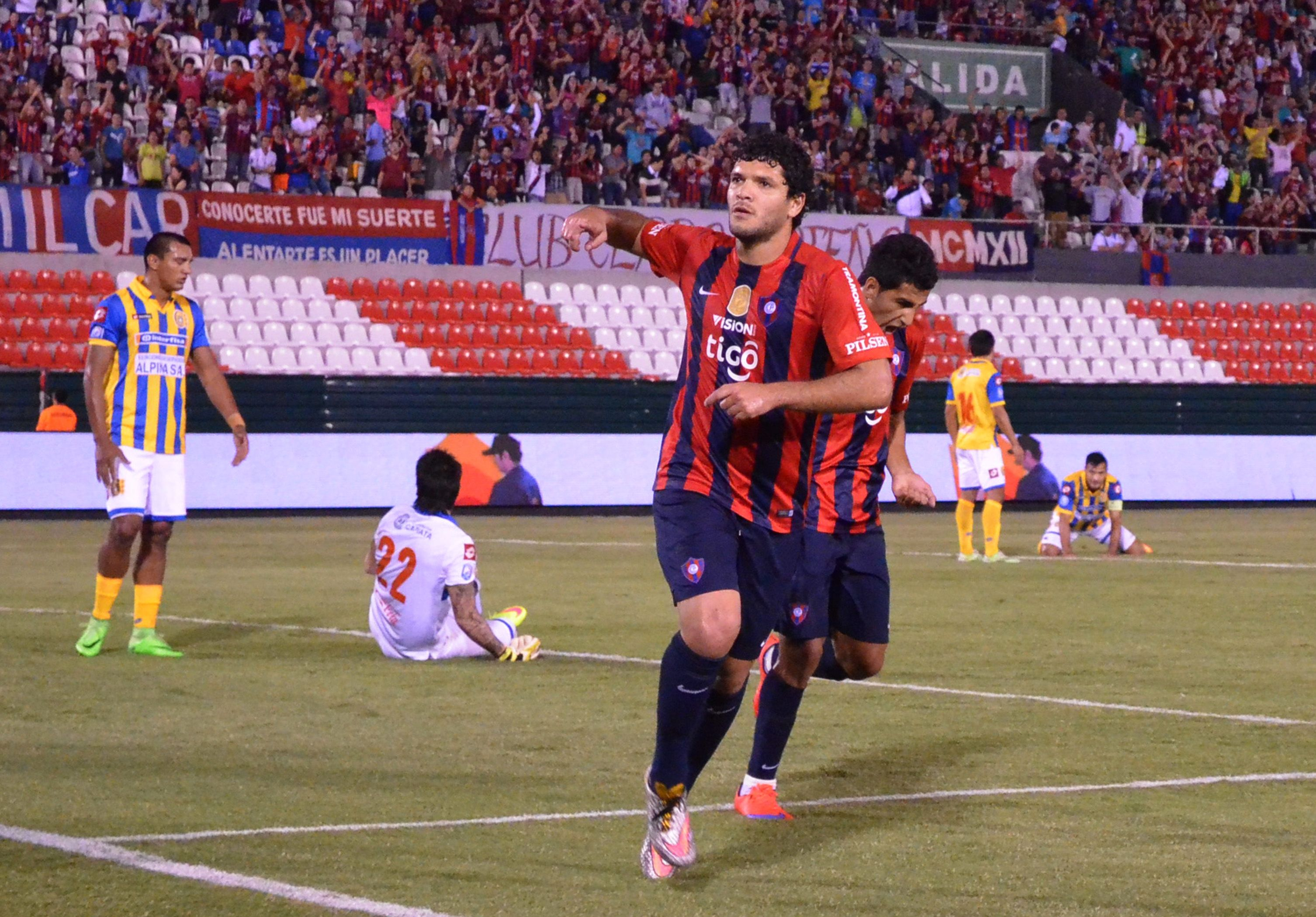Ortigoza guardará sus goles para retornar en la fecha 16. Foto: Rubén Alfonso - Última Hora.