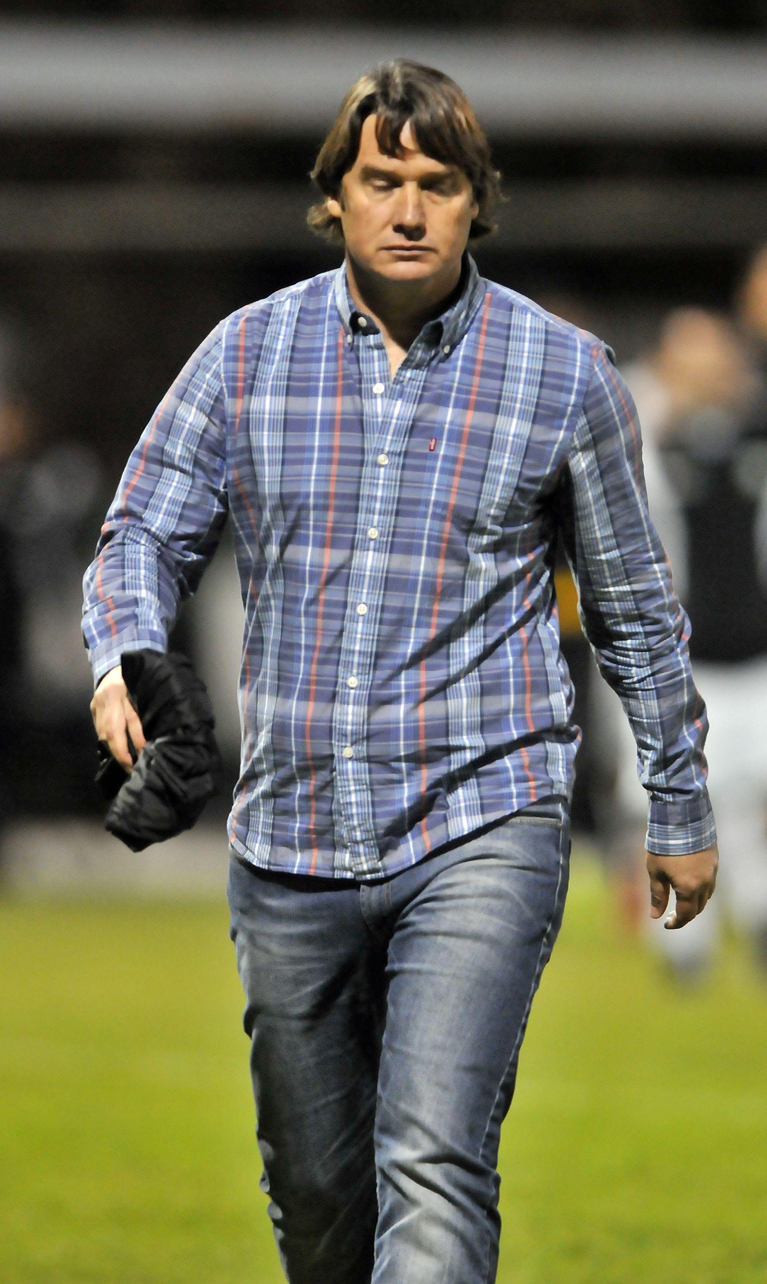 Piaggio deja de ser técnico y ya suenan Jacquet y Lisi. Foto: Última Hora.