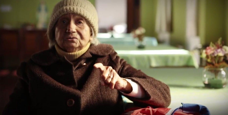 Arenga de una chilena de 99 años que quiere ver a la Roja campeón